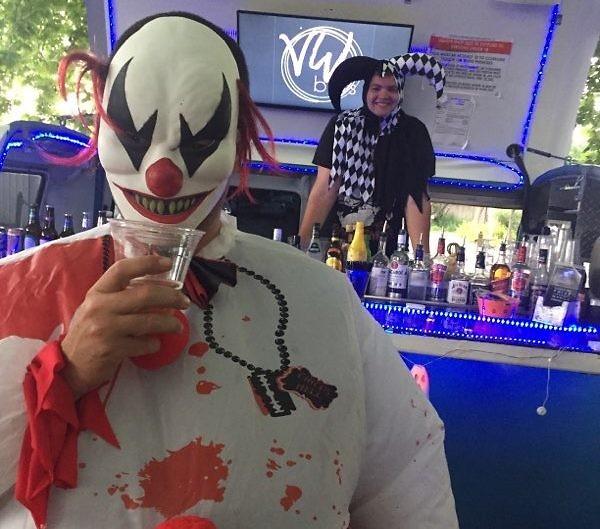bar hire halloween