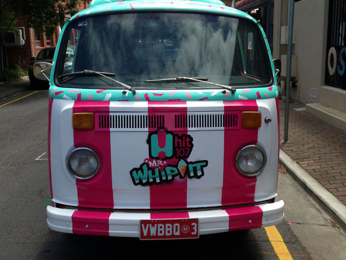 Ice cream truck kombi