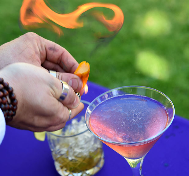 Learn from an experienced bartender in cocktail making class